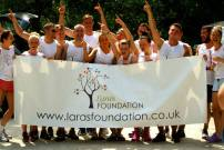Lara's Foundation Windermere runners at the ready!