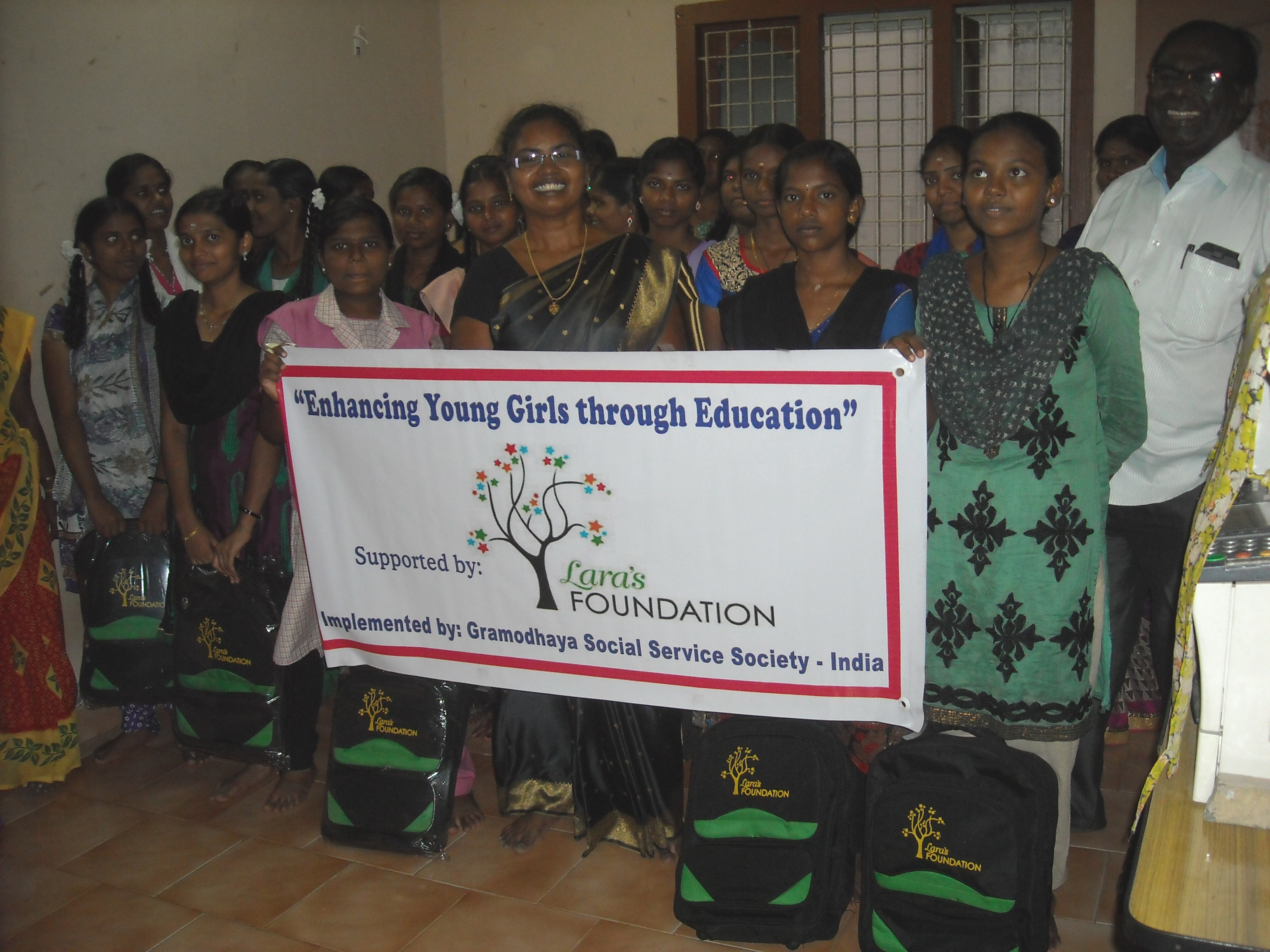 8. Group of +2 students supported